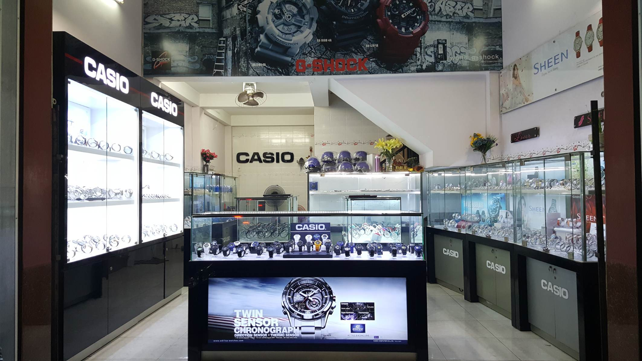 shop đồng hồ chính hãng casio mỹ tho tiền giang